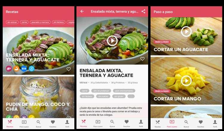 aprende y cocina con las apps