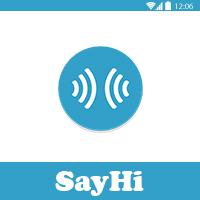 SayHi traductor en tiempo real