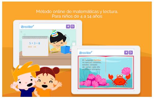 apps de niños de 4 y 14 años